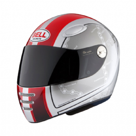 Bell M1 Isle of Man Helmet Red